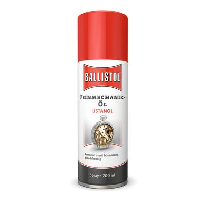 Ballistol ® Ustanol 22800, Feinmechanik-Öl, Spray 200 ml